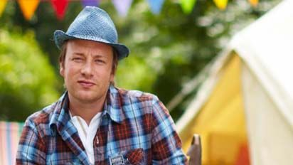 Jamie Oliver's Summer Food Rave up