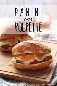 Juicy meatballs, simmered in a red sauce, are laid on fluffy french bread rolls with melted cheese and chipotle mayo