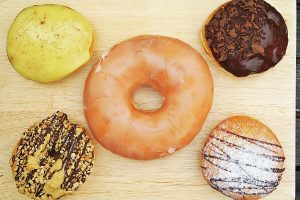 A selection of Big Lou's Donuts
