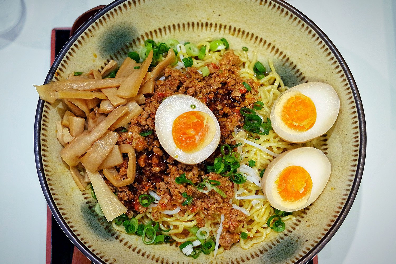 Dragon Jya Jya Men from Menya Noodle Bar