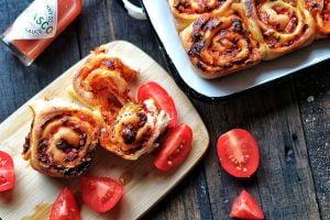 Homemade Pizza Scrolls Recipe