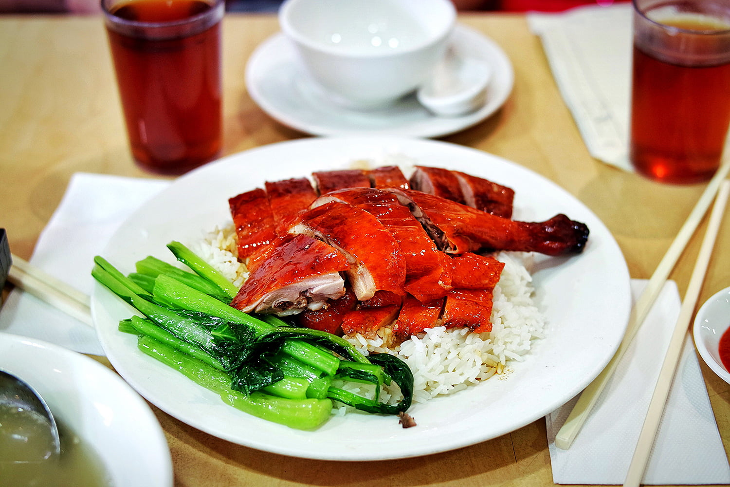 Roasted Duck on Rice, BBQ One, Eastwood