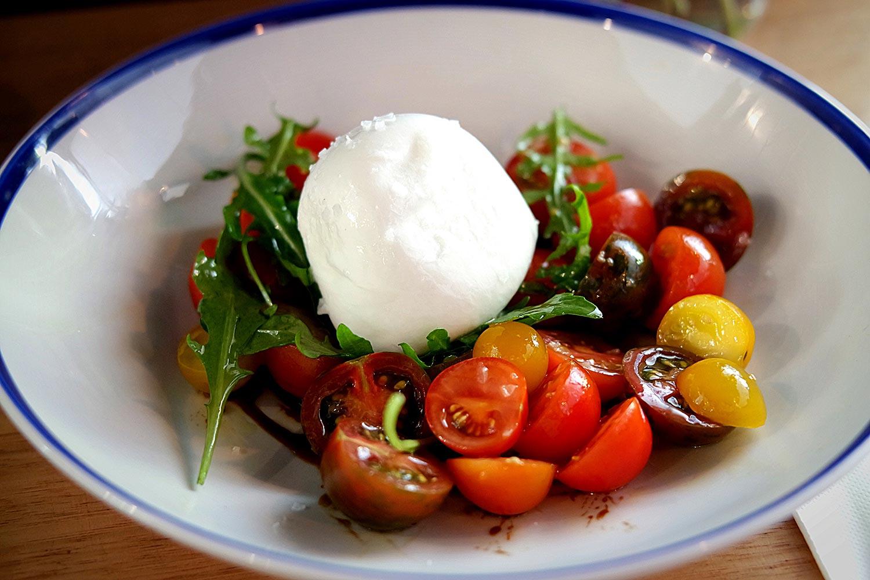 Heirloom Tomato Salad, $15