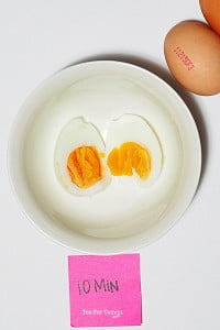 How to get perfectly boiled eggs - 15min