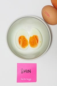 How to get perfectly boiled eggs - 8min