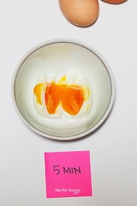 How to get perfectly boiled eggs - 5min