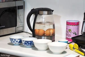 How to get perfectly boiled eggs - eggs in the kettle