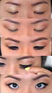 Easy eye makeup for monolids