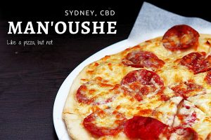 Review of Just Man'oushe by Sydney Food Blog Insatiable Munchies