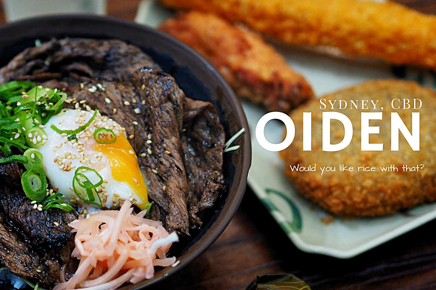 Review of Oiden, Sydney CBD