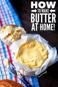 How to make butter recipe