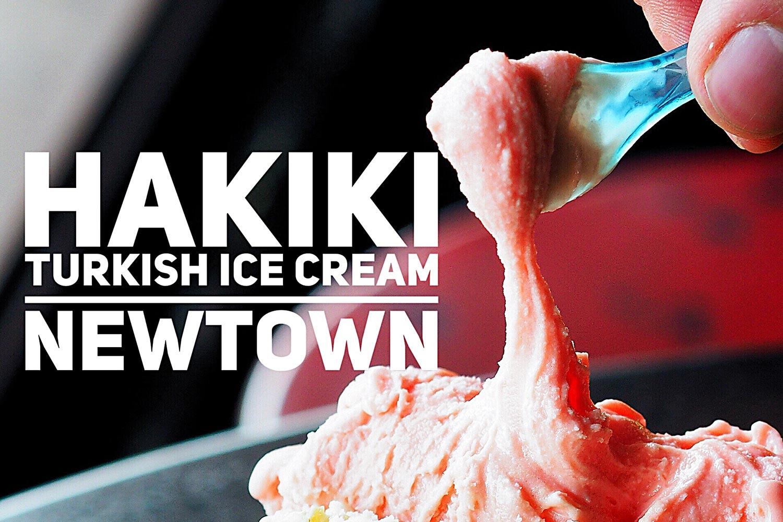 Sydney Food Blog Review of Hakiki Turkish Ice Cream, Newtown