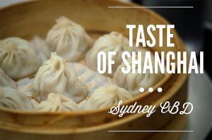 Sydney Food Blog Review: Taste of Shanghai, World Square