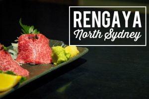 Sydney Food Blog Review of Rengaya, North Sydney