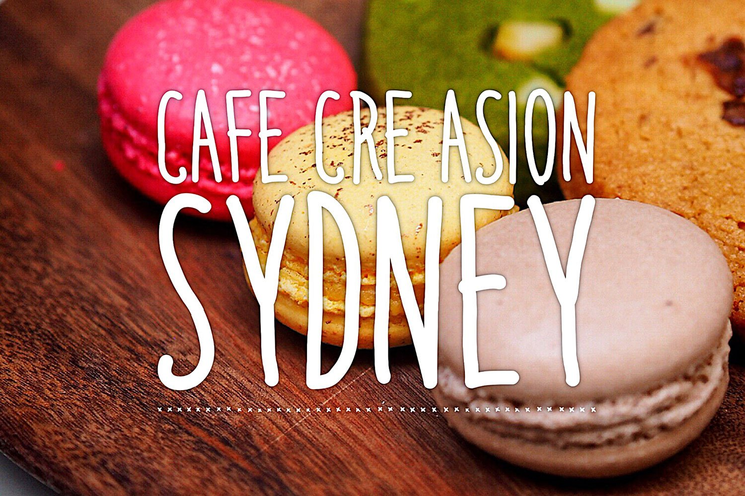 Sydney Food Blog Review of Cafe Cre Asion, Surry Hills