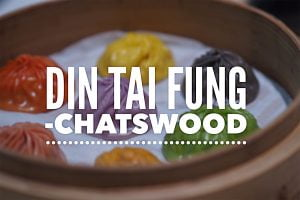 Sydney Food Blog Review of Din Tai Fung, Chatswood