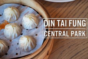 Sydney Food Blog Review of Din Tai Fung, Central Park