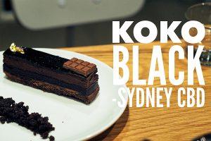 Sydney Food Blog Review of Koko Black, Sydney CBD