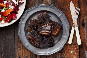 Sydney Food Blog Recipe for Balsamic Glazed Beef Ribs
