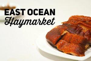 Sydney Food Blog Review of East Ocean, Haymarket