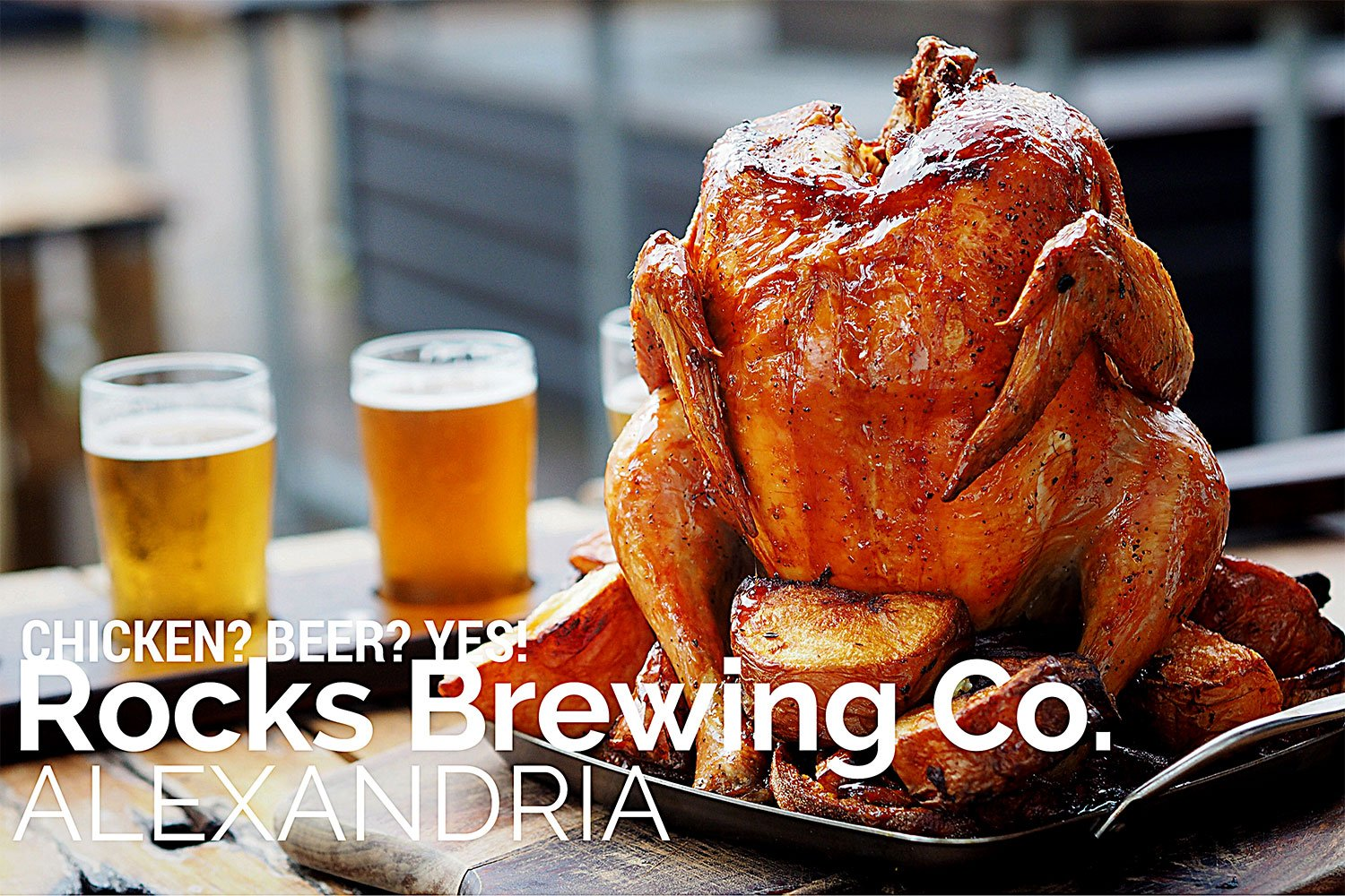 Drunken Chicken - Sydney Food Blog Review of Rocks Brewing Co. Alexandria