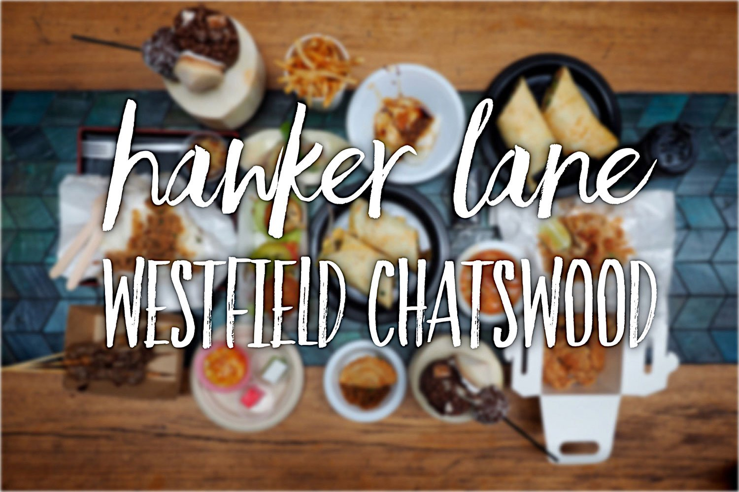 Hawker Lane, Chatswood: Sydney Food Blog Review