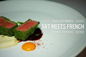 Sydney Food Blog Review of Good Food Month dinner at Ananas, The Rocks