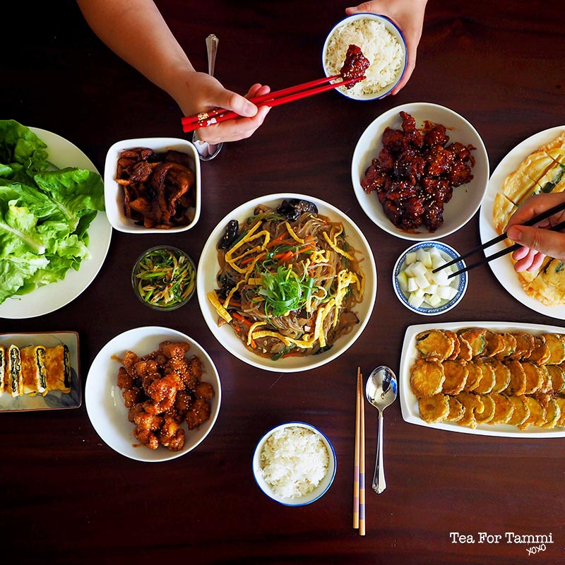 How to have your very own Korean Food Party. Step 8: Take lots of photos!