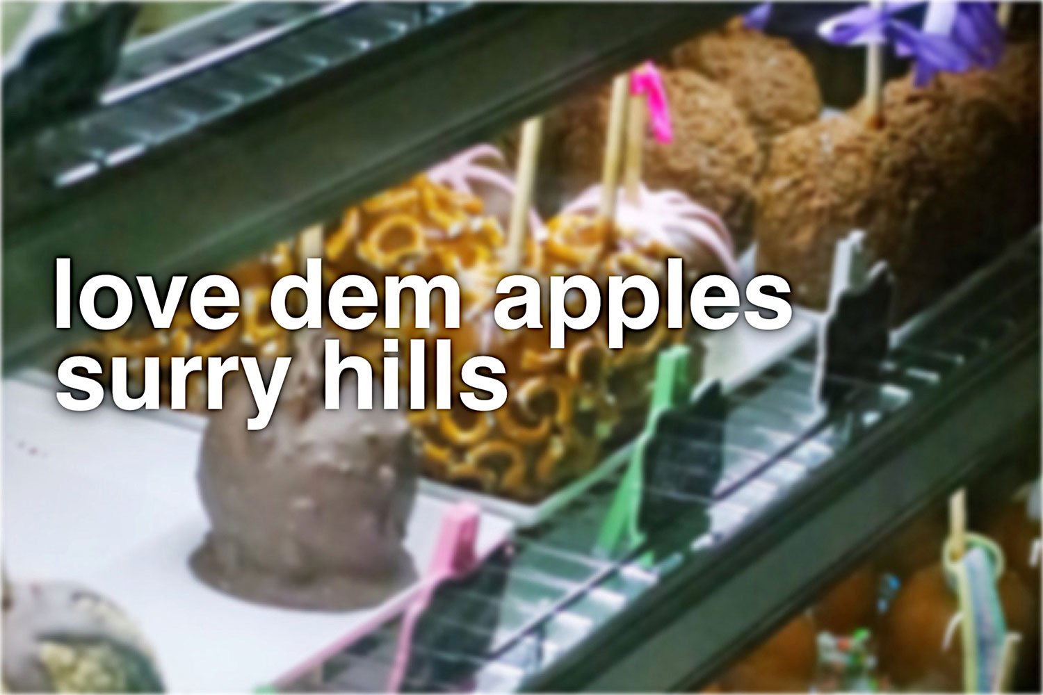 Sydney Food Blog Review of Love Dem Apples, Surry Hills