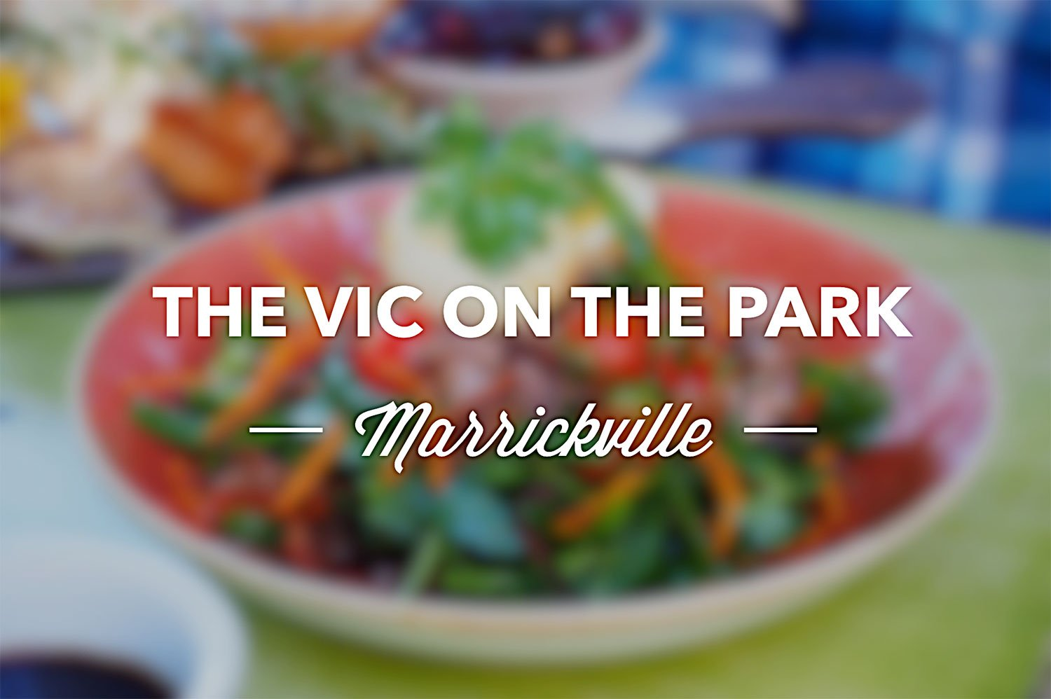 Sydney Food Blog Review of The Vic on the Park, Marrickville