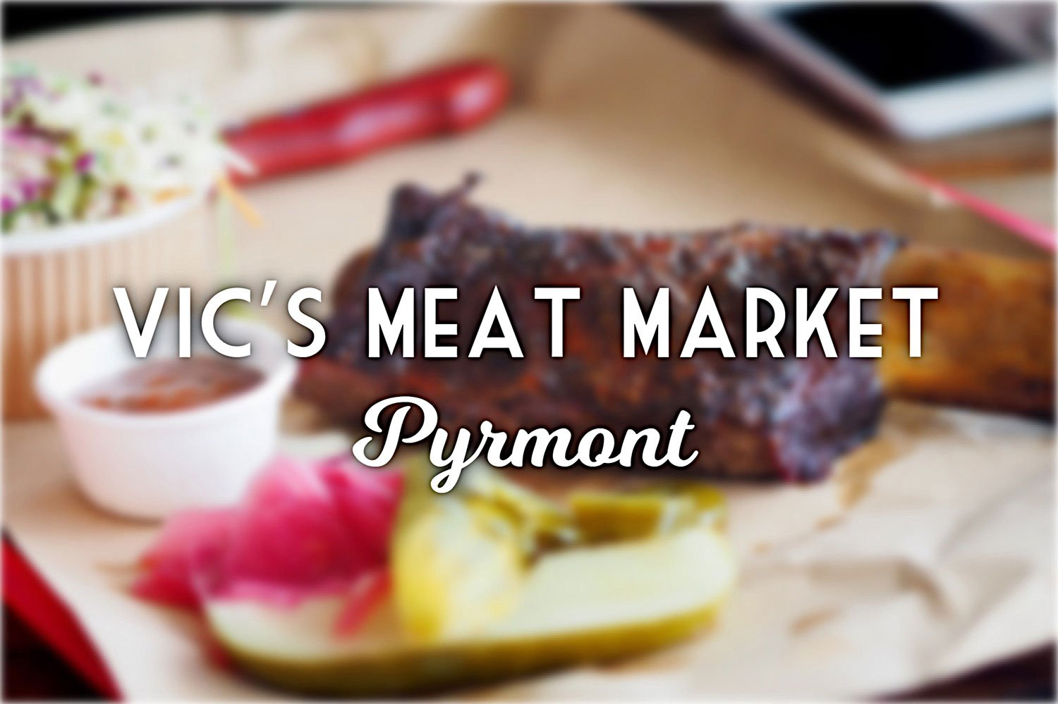 Sydney Food Blog Review of VIc's Meat Markets, Pyrmont