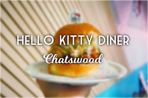 Sydney Food Blog Review of Hello Kitty Diner, Chatswood