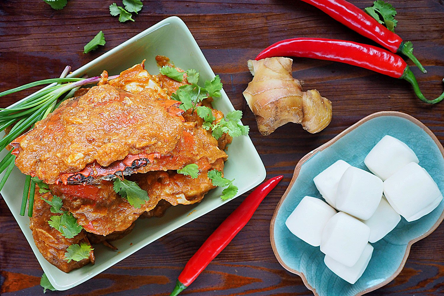 Authentic Singapore Chilli Crab Recipe from Tea For Tammi