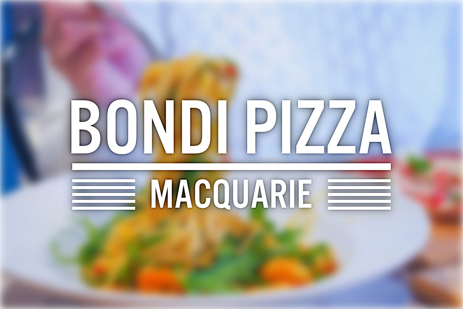 Sydney Food Blog Review of Bondi Pizza, Macquarie