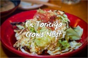 En Toriciya, Crows Nest. Sydney Food Blog Review